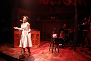 Lawrence Bommer's Stage and Cinema review of Porchlight's Lady Day at Emerson's Bar & Grill, Chicago