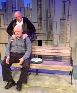 Tom Chaits' Stage and Cinema review of InterACTS's production of Benched at Avery Schreiber in NoHo