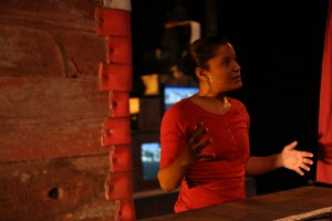 Ella Martin's Stage and Cinema review of red, black & GREEN: a blues at REDCAT in LA