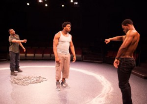 Tony Frankel's Stage and Cinema review of THE BROTHERS SIZE_Old Globe_San Diego