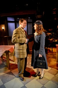 """Lawrence Bommer's Stage and Cinema review of Strawdog Theatre Company's """"Improbable Frequency"""" in Chicago"""