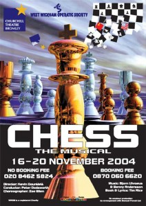 Tony Frankel's Stage and Cinema review of Musical Theatre Guild's CHESS