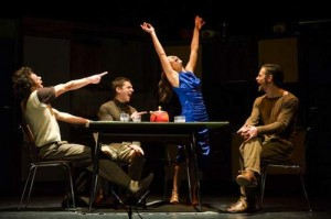 Jesse David Corti's Stage and Cinema review of TRAVERSE at Raymond Kabbaz in West LA