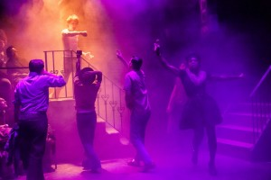 Sarah Taylor Ellis' Stage and Cinema Off-Broadway review of HIT THE WALL at Barrow Street Theatre