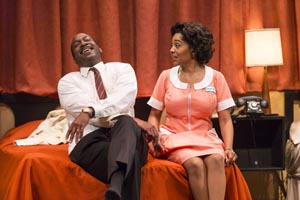 Stacy Trevenon's review of TheatreWorks' THE MOUNTAINTOP in Palo Alto