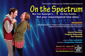 Post image for Los Angeles Theater Review: ON THE SPECTRUM (Fountain Theatre)