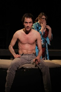 Tom Chaits' Stage and Cinema review of TRAINSPOTTING at the Elephant Theatre, LA