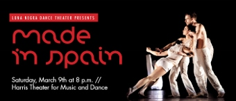 Post image for Chicago Dance Review: MADE IN SPAIN (Luna Negra Dance Theater)