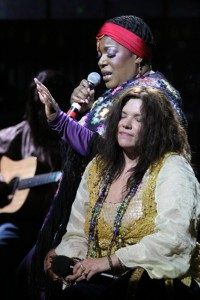 "Jesse David Corti's Stage and Cinema review of ""One Night with Janis Joplin"" Pasadena Playhouse and tour."
