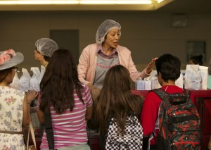 "Tony Frankel's Stage and Cinema L.A. review of Cornerstone's ""Lunch Lady Courage."""