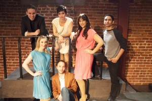 "Tony Frankel's Stage and Cinema review of Coeurage Theatre's L.A. production of Gregory Nabours' ""The Trouble With Words."""