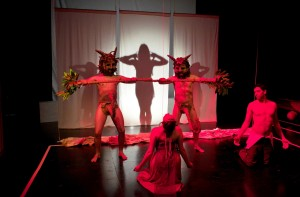 Mia Bonadonna's Stage and Cinema review of Rogue Artists Ensemble's SONGS OF BILITIS at the Bootleg in LA