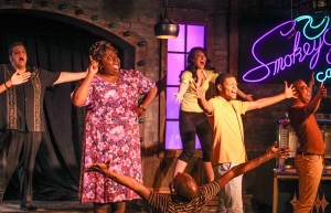 "Lawrence Bommer's Stage and Cinema review of ""Smokey Joe's Café"" at the Royal George, Chicago"