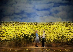 Lawrence Bommer's Stage and Cinema review of BIG FISH at the Oriental Theatre in Chicago.