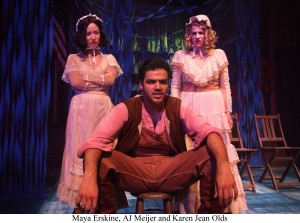 Jason Rohrer's Stage and Cinema review of AMERICAN MISFIT at Theatre @ Boston Court in Pasadena.