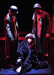 """Ella Martin's Stage and Cinema L.A. review of """"Mad Forest"""" at Open Fist Theatre Company."""