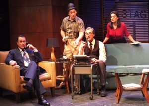 Samuel Bernstein's Stage and Cinema LA review of BILLY & RAY at Falcon Theatre Burbank