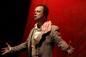 """Jason Rohrer's Stage and Cinema interview with Brian T. Finney and Tim Robbins – """"Heart of Darkness"""" at Actors' Gang."""