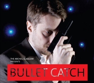 Post image for Off-Broadway Theater Review: BULLET CATCH (Brits Off Broadway at 59E59 Theaters)