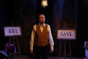 Dmitry Zvonkov's Stage and Cinema Off-Broadway review of BULLET CATCH 59E59 Theaters