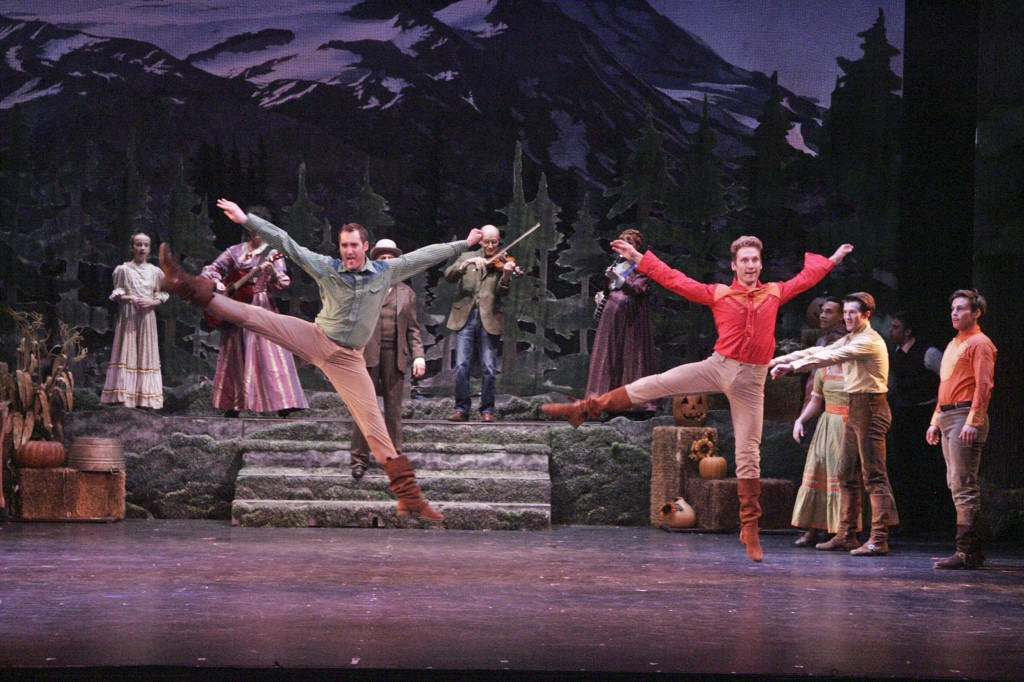 "Tony Frankel's Stage and Cinema review of La Mirada's ""Seven Brides for Seven Brothers."""