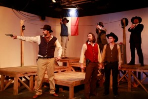 Jesse Herwitz' Stage and Cinema review of ROUND ROCK, Theatre Unleashed in Hollywood