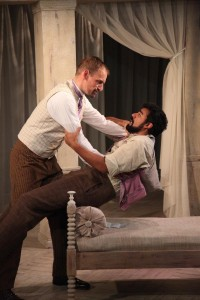 """Lawrence Bommer's Stage and Cinema review of Remy Bumppo's """"Creditors"""" in Chicago"""