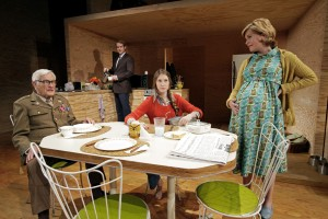 """Ashley Evenson's Stage and Cinema review of """"Smokefall"""" at South Coast Repertory."""