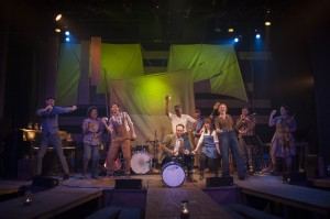 """Tony Frankel's Stage and Cinema review of """"Ploughed Under: An American Songbook"""" House Theatre of Chicago at the Chopin."""
