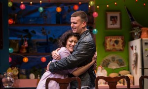 Lawrence Bommer's Stage and Cinema Chicago review of THE HAPPIEST SONG PLAYS LAST at the Goodman.