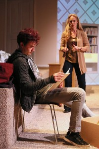 "Jesse David Corti's L.A. Stage and Cinema review of Rattlestick Playwright's ""Slipping."""