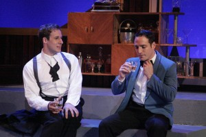 """Samuel Bernstein's Stage and Cinema LA review of """"Falling for Make Believe"""" at the Colony Theatre."""