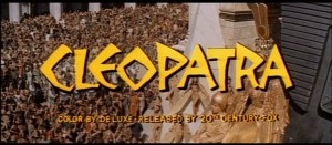 Kevin Bowen's Stage and Cinema DVD review of CLEOPATRA