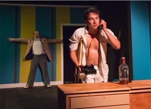 Ella Martin's Stage and Cinema LA review of Theatre of NOTE's HOT CAT.