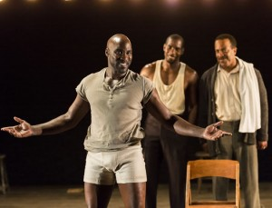 """Tom Chaits' Stage and Cinema review of """"The Royale"""" at the Kirk Douglas Theatre."""