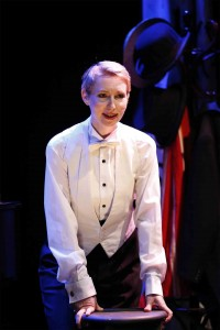 Dmitry Zvonkov's Stage and Cinema review of THE GIRL I LEFT BEHIND ME, Brits Off Broadway at 59E59 Theaters.