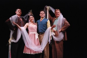 "Tony Frankel's Stage and Cinema LA review of South Coast Rep's ""The Fantasticks."""