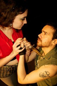 "Erika Mikkalo's Stage and Cinema Chicago review of Wayward Productions' ""Richard III."""