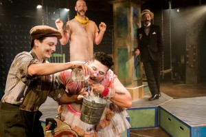 "Tony Frankel's Stage and Cinema Chicago review of The Hypocrites' ""Ivywild"" at Chopin Theatre."