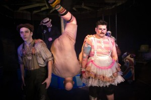 """Tony Frankel's Stage and Cinema Chicago review of The Hypocrites' """"Ivywild"""" at Chopin Theatre."""
