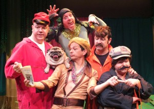 "Ella Martin's Stage and Cinema LA review of Troubadour Theater Company's ""A Midsummer Saturday Night's Fever Dream."""