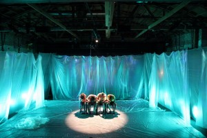 "Jesse David Corti's Stage and Cinema LA review of Bootleg Theater's ""A Fried Octopus."""