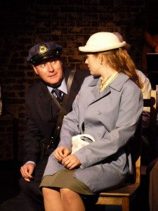 Tony Frankel's Stage and Cinema review of Good People Theater Company's A MAN OF NO IMPORTANCE, Elephant Stages at the Hollywood Fringe.