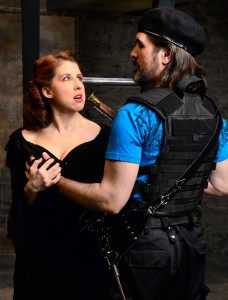 Samantha Nelson's Stage and Cinema Chicago review of Lifeline Theatre's THE THREE MUSKETEERS.