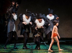 """Lawrence Bommer's Stage and Cinema Chicago review of """"The Jungle Book"""" at the Goodman Theatre in Chicago."""