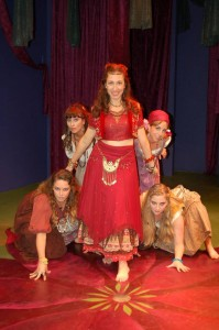 Barnaby Hughes' Stage and Cinema review of New American Theatre's A MIDSUMMER NIGHT'S DREAM at the Odyssey.
