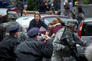 Kevin Bowen's Stage and Cinema review of WORLD WAR Z, from Paramount Pictures.