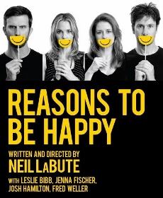 Post image for Off-Broadway Theater Review: REASONS TO BE HAPPY (MCC Theater at Lucille Lortel Theatre)