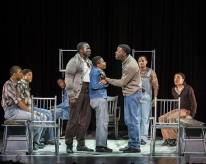 "Tony Frankel's Stage and Cinema LA review of ""The Scottsboro Boys"" at the Ahmanson Theatre."