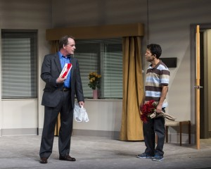 "Tony Frankel's Stage and Cinema review of ""A Parallelogram"" at Mark Taper Forum in Los Angeles."